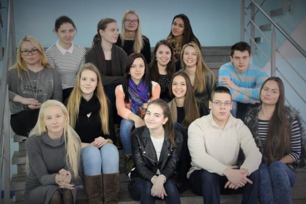 SŽ-14 grupė, 2016 metai Pavasario semestras