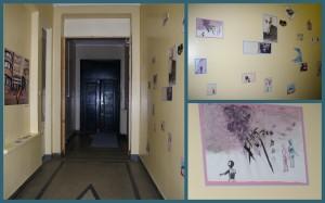 Galerija prasideda nuo įėjimo.  Kristinos Lenkaitytės nuotr.