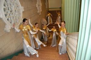 """ŠOKIS. Klaipėdos jaunimo centro choreografijos studija ,,Inkarėlis"""" rengia šiuolaikinio šokio festivalį ,,SAULĖgrąža"""". Žvejų rūmų nuotrauka."""