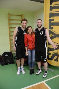 """Bronzos medalių savininkai Jonas Lisauskas (iš kairės) ir Vitalij Sokolov (iš dešinės), žaidžiantys """"Danvitės"""" komandoje. Juliaus Kanapkos nuotr."""