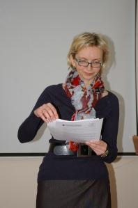VDU Viešosios komunikacijos katedros vedėja doc. dr. Kristina Juraitė. Kristinos Lenkaitytės nuotr.