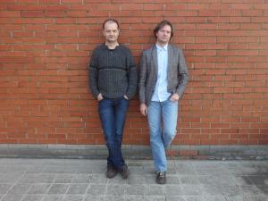 Projekto dalyviai: Liutauras Kraniauskas, Aldis Gedutis. Autorės nuotr.