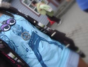 """""""Emo"""" stilius tik aprangos kodas, o ne gyvenimo būdas. Onos Zonytės nuotrauka."""