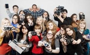 KU žurnalistai laužo stereotipus. A. Pelakausko nuotr.