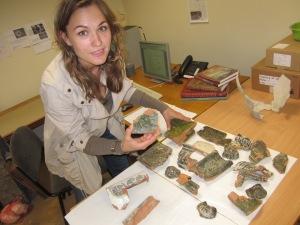 Doktorantė Raimonda Nabažaitė. Nuotrauka iš asmeninio archyvo.
