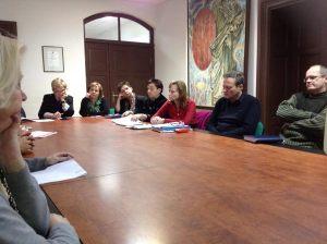 Posėdyje dalyvavo fakultetų atstovai atsakingi už praktikas. Gyčio Petrausko nuotr.