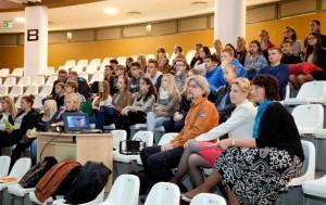 Seminaro dalyviai - moksleiviai, dėstytojai, studentai. A. Mažiūno nuotr.