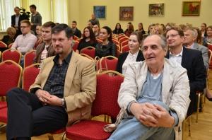 Auditorija nebuvo pasyvi. R. Gorodeckienės nuotr.