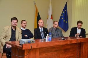 LIetuvos radijo ir televizijos komisijos atstovai pristatė savo pranešimus. R. Gorodeckienės nuotr.