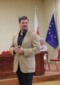 Visus sužavėjo emocinga V. Vobolevičiaus kalba. R. Stankutės nuotr.