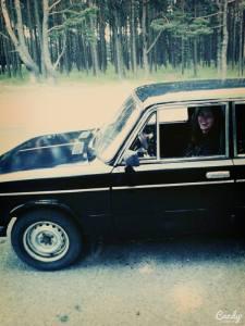 Dabar automobilis studentui ne prabanga, bet būtinybė. Nuotrauka yra iš Alinos Lubytės asmeninio archyvo.