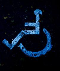 Ne prie visų fakultetų neįgalieji ras, kur pasistatyti automobilį. Flickr nuotrauka
