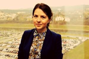 KU žurnalistikos absolventė Ieva Augytė dirba Vilniuje (Asmeninio archyvo nuotrauka)