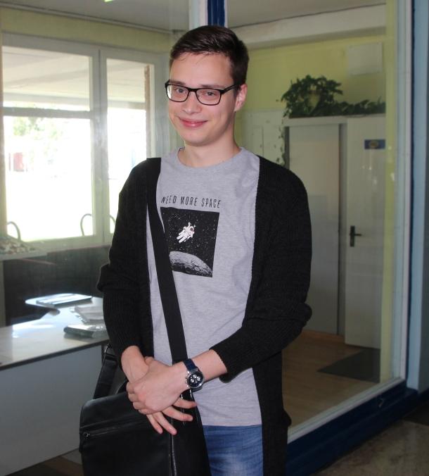 Edmundas Jurkaitis, II kurso ekonomikos studentas